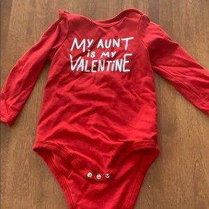 18 month valentine onesie